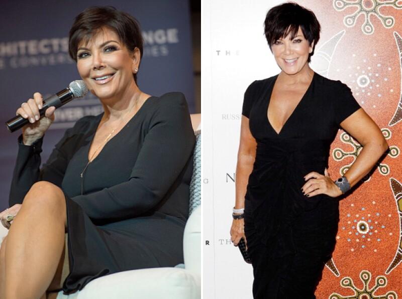 Medios aseguran que Kris Jenner subió más de 30 kilos.