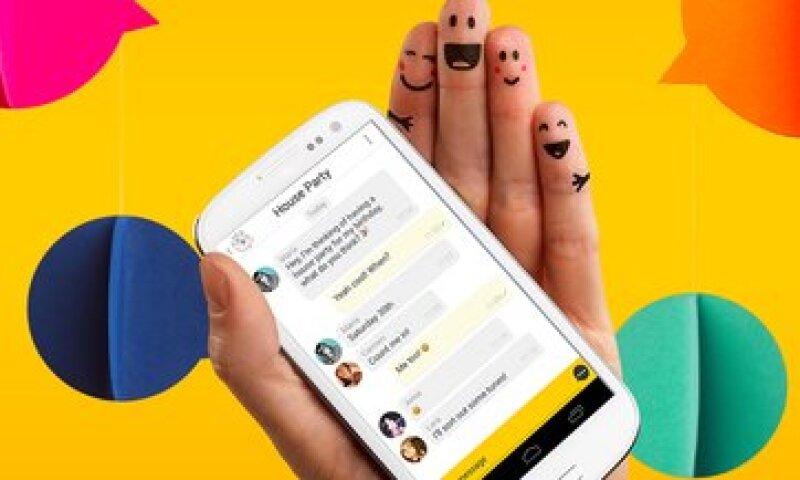 Usuarios de Telcel y Movistar podrán usar la nueva app de msngr gratis. (Foto: Cortesía Myriad)