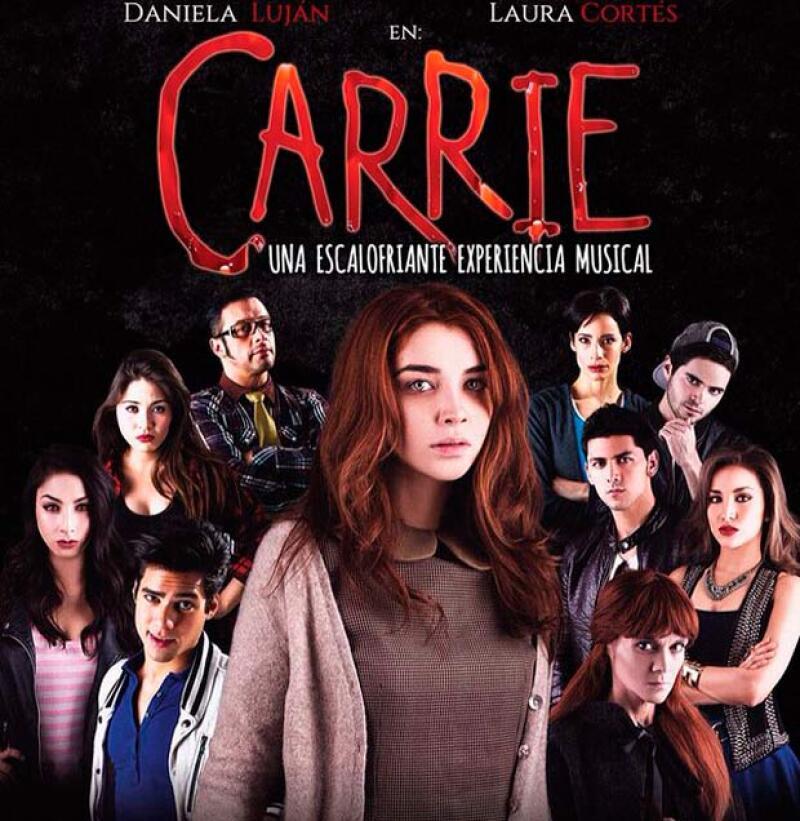 Actualmente participa en la obra de teatro Carrie.
