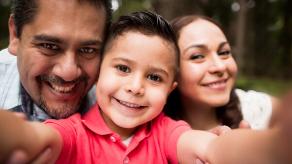 Familia mexicanas.