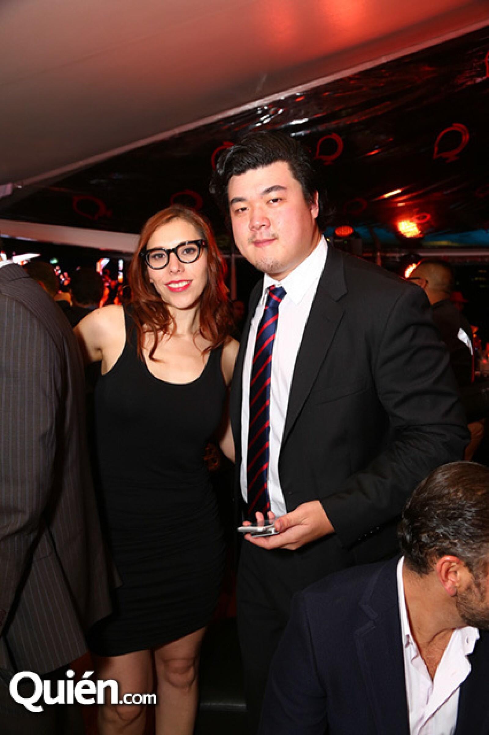 Aura López y Seung Lee