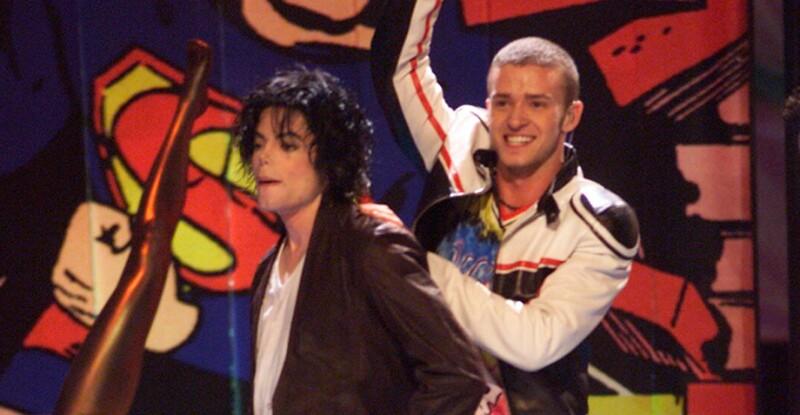Justin Timberlake y Michael Jackson