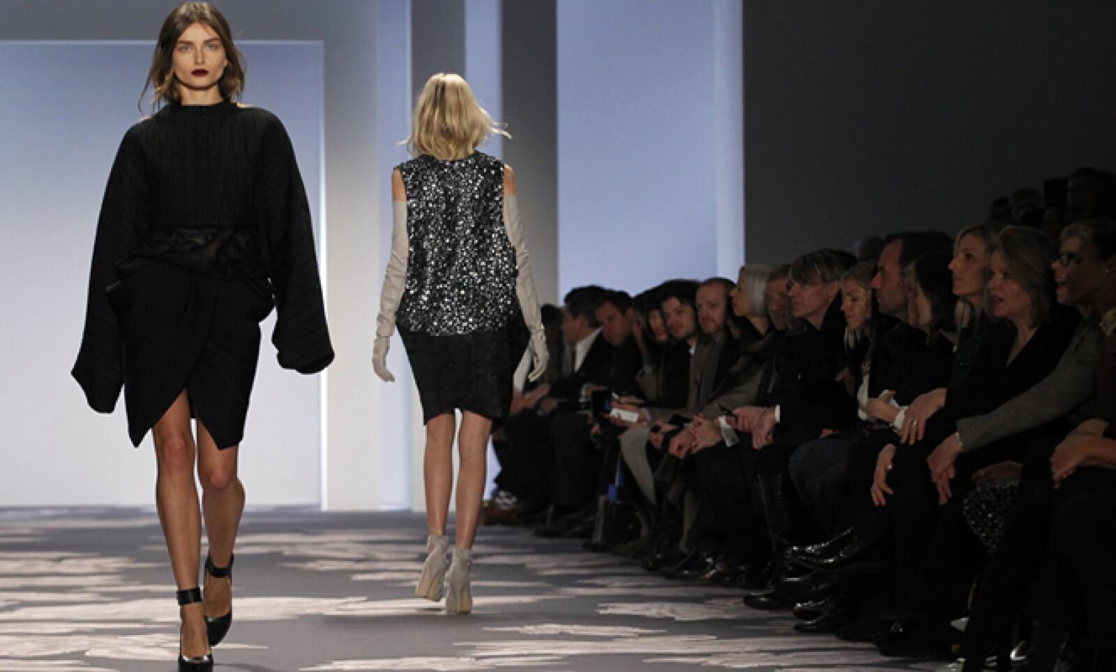 La famosa diseñadora Vera Wang también presentó su colección en la Fashion Week.