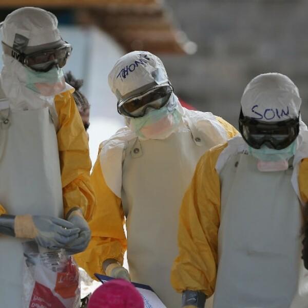 Combatientes del ébola