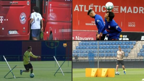 El mundo se prepara para el silencioso regreso del fútbol