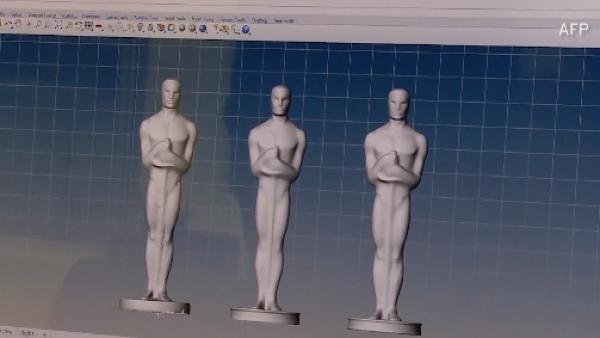 ¿Cómo hacen las estatuillas del 'Oscar'?