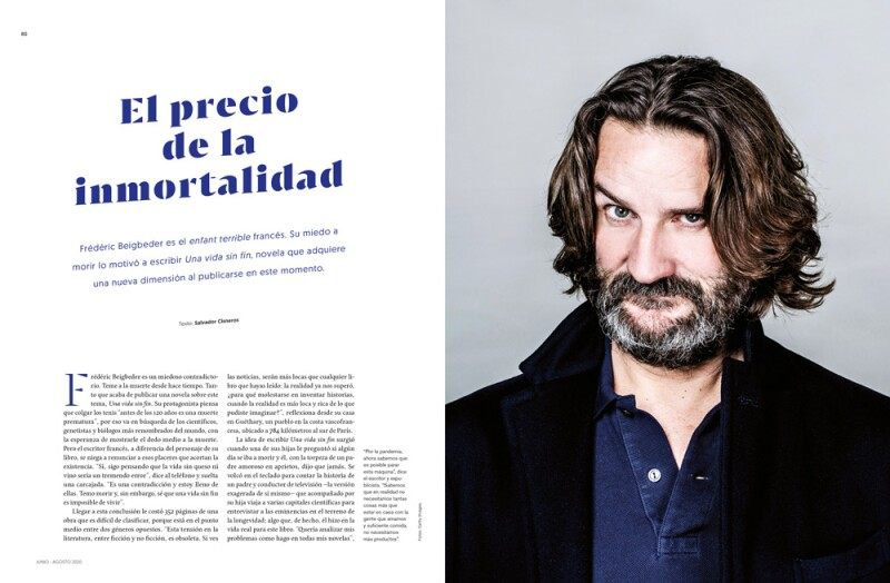 Frederic Beigbeder Spread Life and Style
