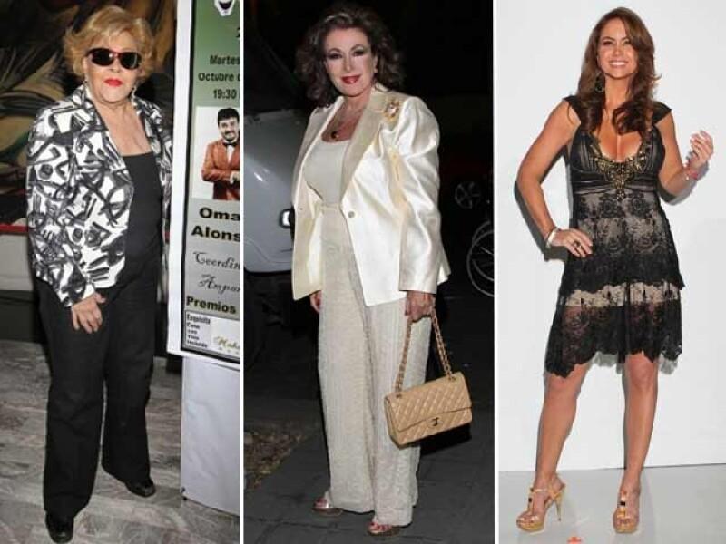 Silvia Pinal, Laura Zapata y Lucero son parte de los famosos que han externado la admiración que sentían hacia el actor.
