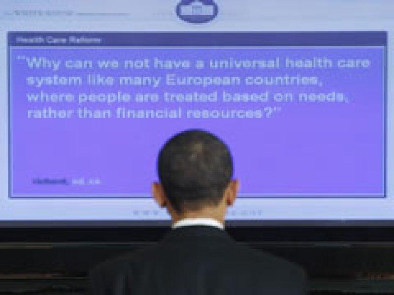 Obama participó en un foro en el sitio web de la Casa Blanca. (Foto: Reuters)