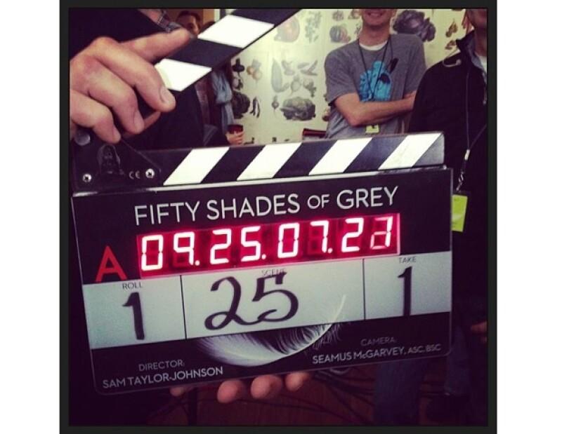Así se inició el rodaje de la película.