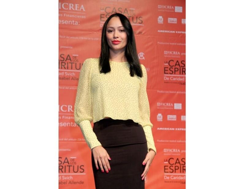 La actriz afirma que no quiere un lugar en Estados Unidos, pero respeta la postura de sus compañeros mexicanos que apuestan por triunfar fuera de su país.