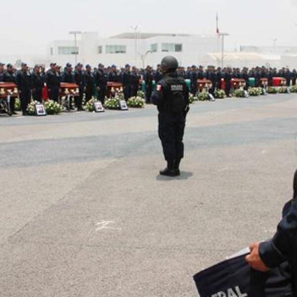 funeral policias michoacan