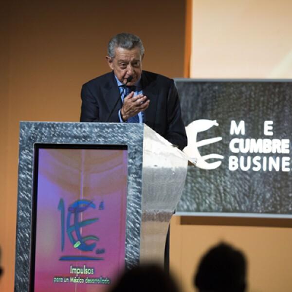 El presidente de la cumbre fue uno de los oradores en el mensaje de bienvenida del foro anual, donde se discuten temas clave que definen el futuro de México.