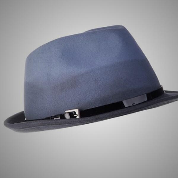 2.Un accesorio como este sombrero, con detalles de piel y lana, complementa y da estilo a tu 'outfit'.