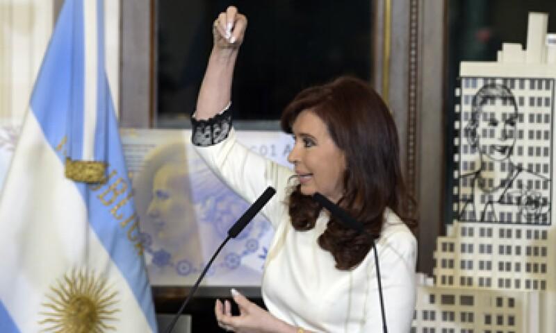 Argentina depositó 539 mdd a fines de junio para las reestructuraciones de deuda. (Foto: AFP)