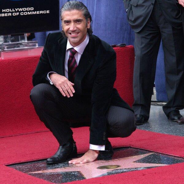 En 2005 cuando develó su estrella en el Paseo de la Fama de Hollywood.