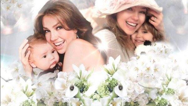 La cantante envió un cariñoso mensaje a su hijo junto a una foto que deja a la vista cúanto ha crecido.