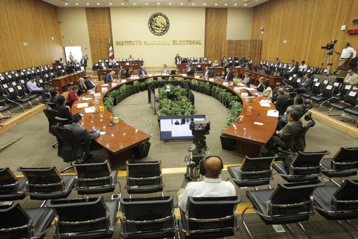 Ante la contingencia sanitaria, el INE acuerda realizar sesiones virtuales