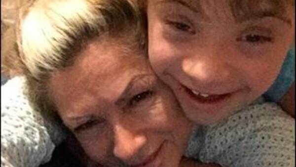 Este lunes fue el Día Mundial de Síndrome de Down y orgullosa de su hijo mayor, Luciano, la actriz publicó varias fotografías del niño que dejan en evidencia cuánto ha crecido.