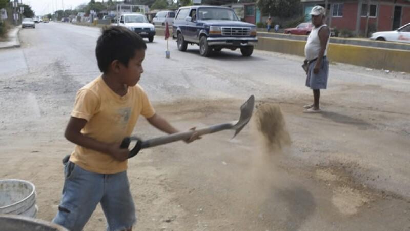 Pobreza en Acapulco