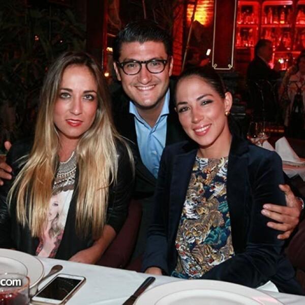 Paula Arango,Mauricio Murillo y Ximena Murat