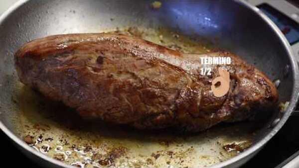 Filete de cerdo en glaseado de piloncillo