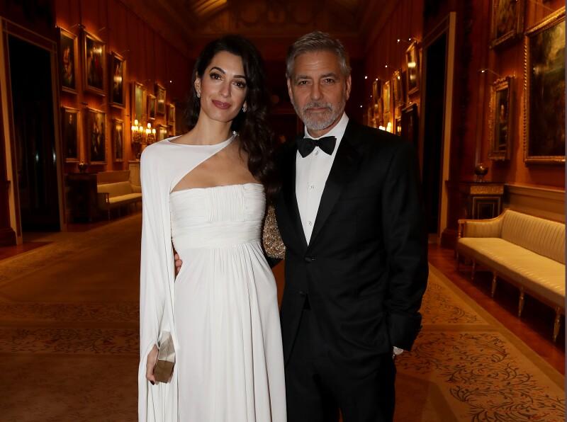 Amal y George Clooney