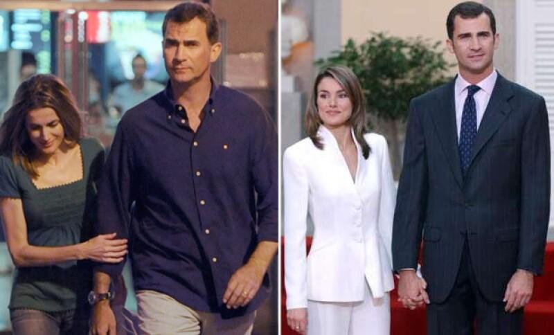 El 1 de noviembre de 2003, la pareja sorprendió con la noticia de su compromiso ya que nadie sabía que tenían una relación.