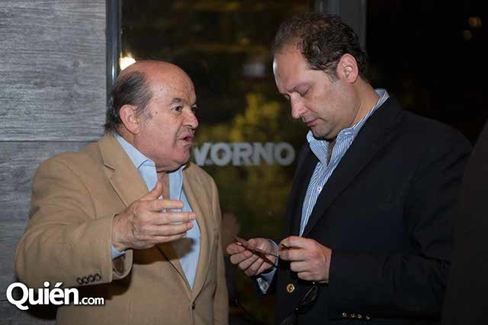Fernando Gutiérrez y Eduardo Solórzano