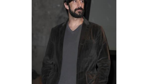 """El actor José María Yazpik aseguró que en la película """"Colosio: El asesinato"""", donde tratará, bajo su personaje de detective, investigar las causas de este magnicidio, demuestra su madurez actoral."""