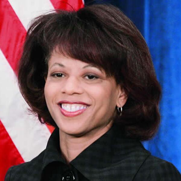 Melody Barnes comparte con Obama la vocación de la abogacía y la afición por la política. Dirige el Consejo de Política Doméstica.