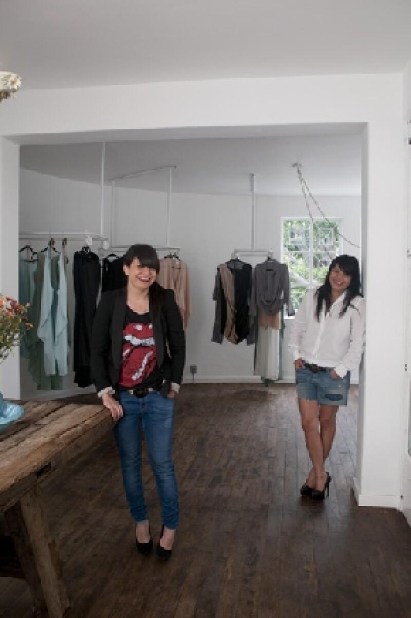 Julia y Renata.