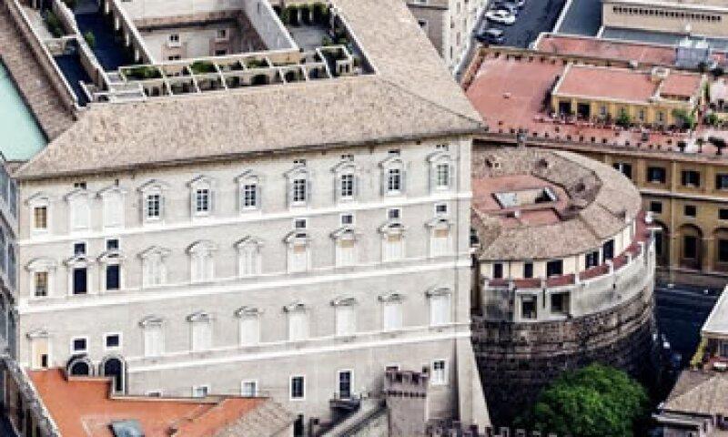 Vista de la torre del Instituto para las Obras de la Religión, también conocido como Banco Vaticano. (Foto: Reuters)