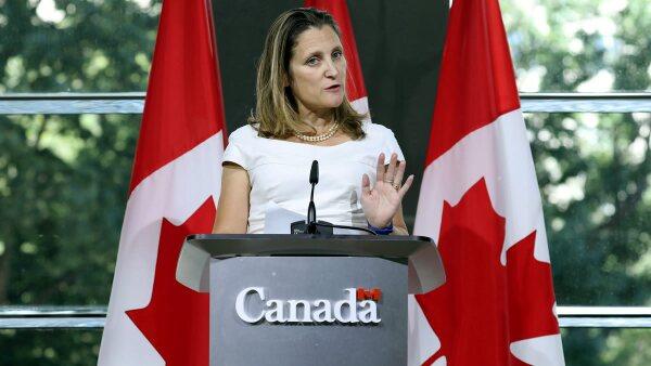 Chrystia Freelnd México Canadá Estados Unidos TLCAN