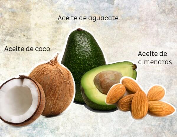 Sérum de aceite de coco para hidratar la piel.
