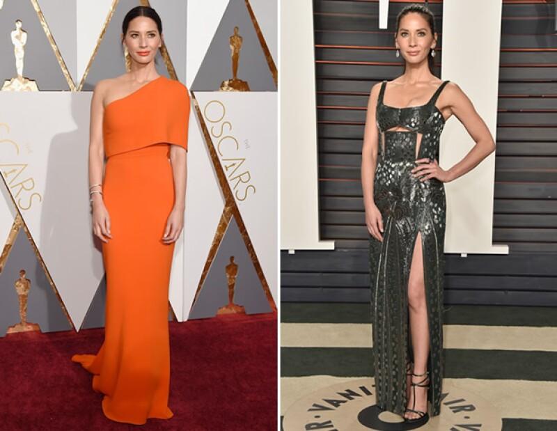 Heidi Klum desilusionó con un vestido Marchesa en los Oscar, pero lució espectacular en el vestido Atelier Versace que llevó a la fiesta de Vanity Fair. ¿A qué otras famosas les pasó lo mismo?