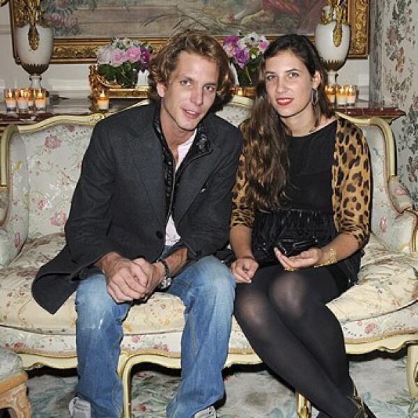 Andrea y Tatiana se convirtieron en padres el 21 de marzo de 2013.