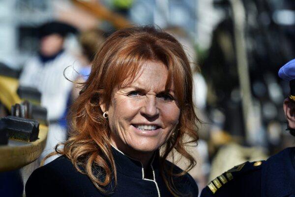 Duchess of York visit to Gothenburg, Sweden - 14 Sep 2017
