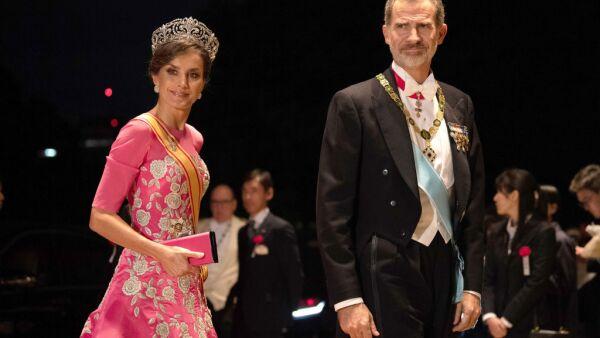 Reina Letizia y rey Felipe VI de España