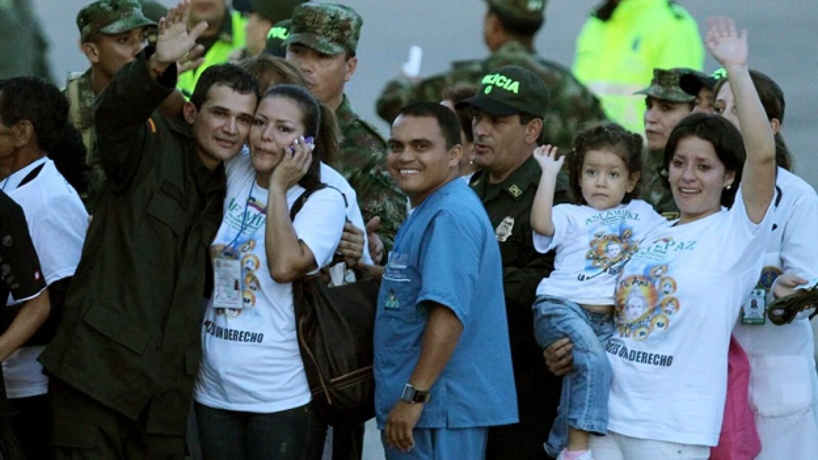 farc liberacion militares policias colombia