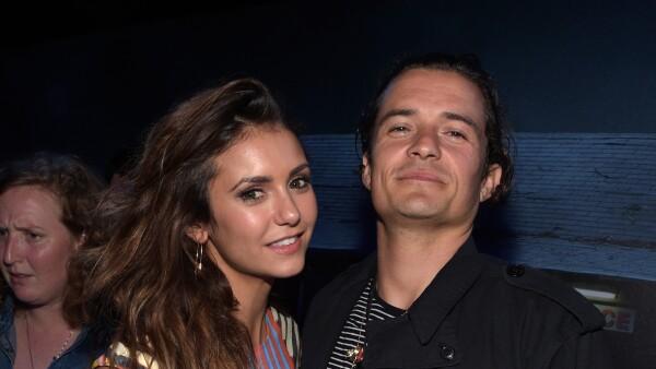 Nina Dobrev y Orlando Bloom