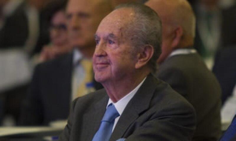 Alberto Baillères nació el 22 de agosto de 1931. (Foto: Cuartoscuro )