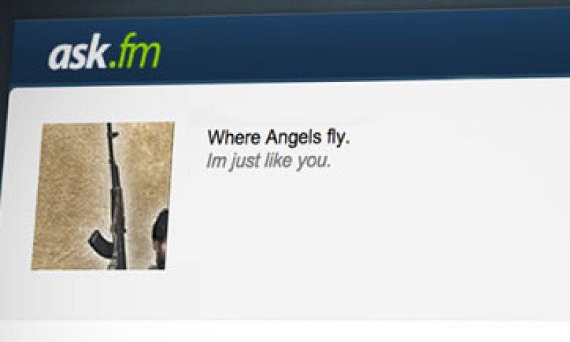 Los reclutadores de ISIS usan la red social Ask.fm, un sitio donde se pueden hacer preguntas de forma anónima. (Foto: Tomada de cnnmoney.com)