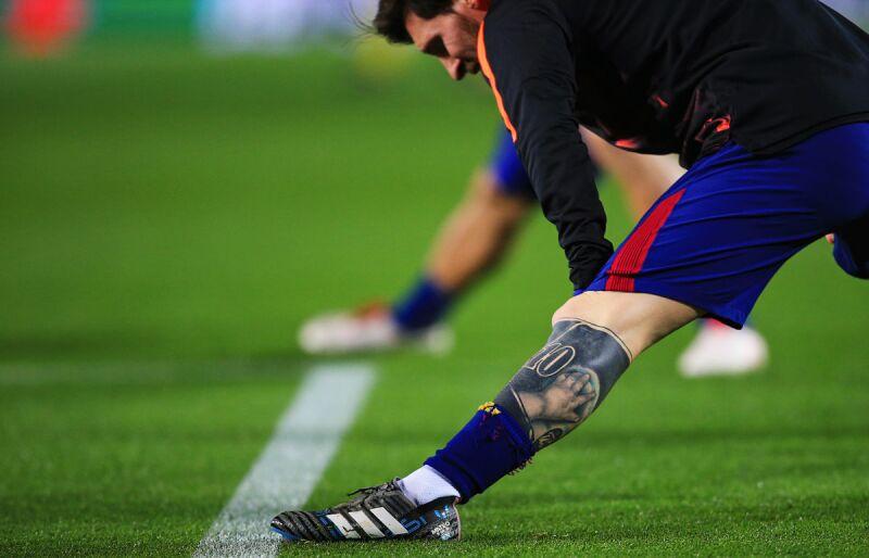 Messi tatuaje 10