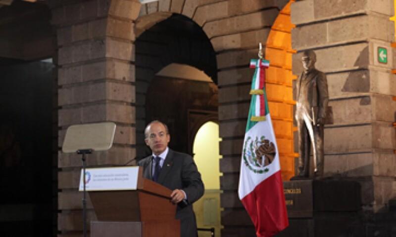 El presidente Felipe Calderón envió la iniciativa de ley en agosto de 2010. (Foto: Notimex)