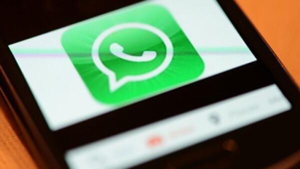 WhatsApp  tiene actualmente cerca de 450 millones de usuarios en todo el mundo.  (Foto: tomada de cnnmoney.com)