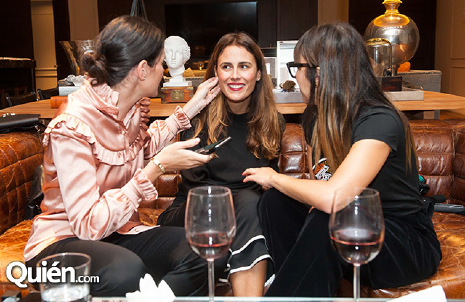 Joanna Faría,Erika Basave y Venus Fabbricatore
