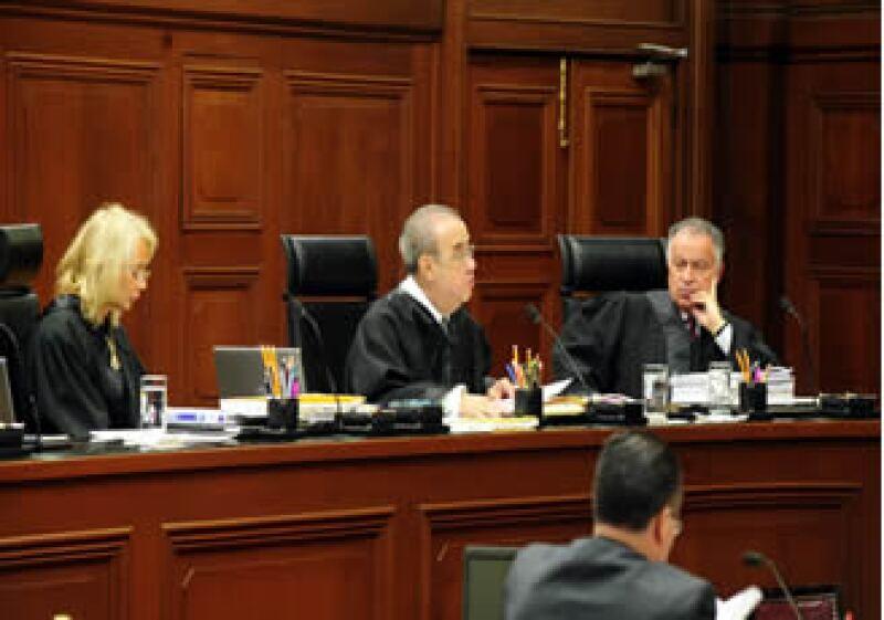 Ocho ministros de la SCJN votaron a favor de crear una comisión especial para investigar el caso de la guardería ABC. (Foto: Archivo NTX)