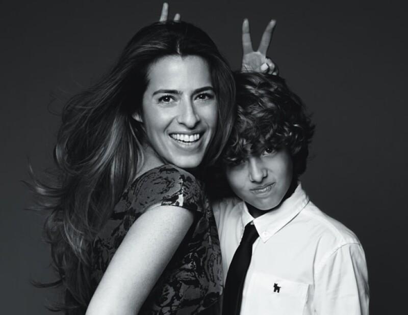 Natalia García Vivanco, María de la Fuente, Carla Ortega y Zarina Rivera posaron para una campaña publicitaria en este mes de las madres, algunas en compañía de sus hijos, conoce más sobre ellas.