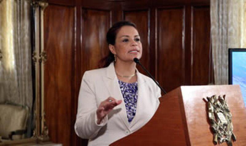 Baldetti dimitió el año pasado, en medio de un escándalo que la vinculaba con corrupción aduanera. (Foto: Notimex)
